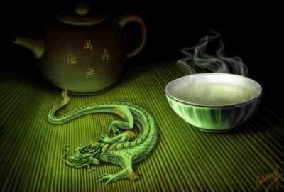 Чай темный дракон