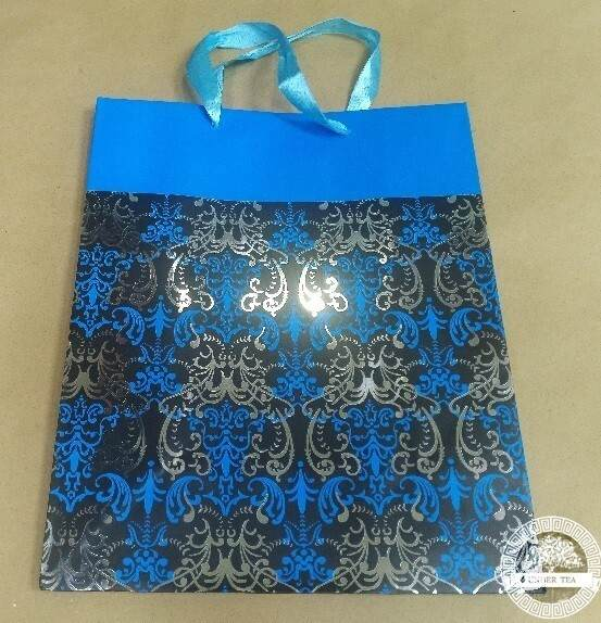 Пакет Орнамент голубой