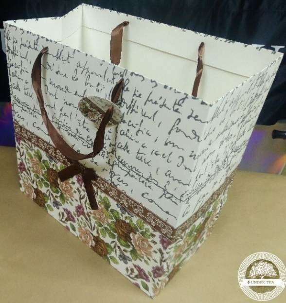 Пакет-сумка люкс письмо