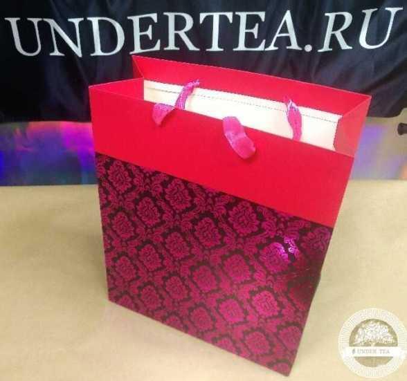 Пакет Орнамент розовый