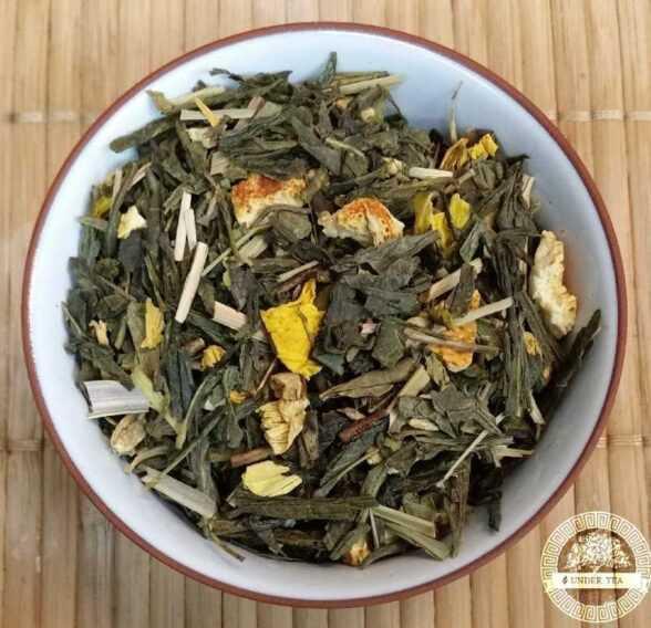имбирь лимон чай